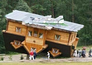 In austria la casa costruita al contrario 22 - Casa al contrario ...